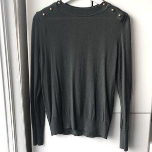 H&M Women's Cotton Crewneck Sweater Size M